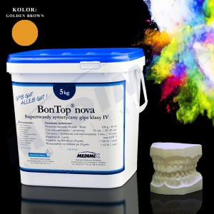 Gips BonTop-nova-golden brown 5kg klasaIV